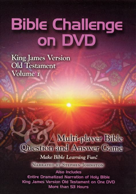 biblical themes in film bible challenge on dvd king james version old testament