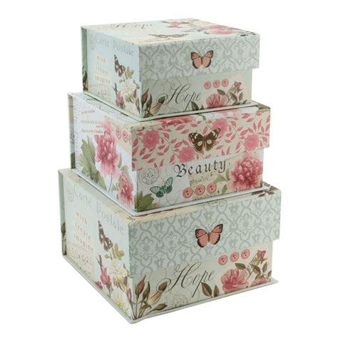 decorative boxes small decorative photo storage boxes with lids