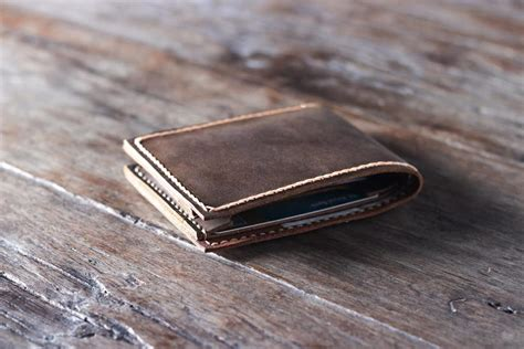 handmade leather wallet joojoobs