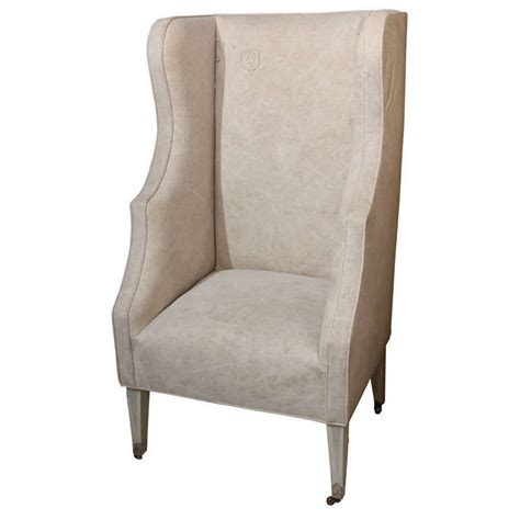 Canvas Chairs by Canvas Wing Chair At 1stdibs