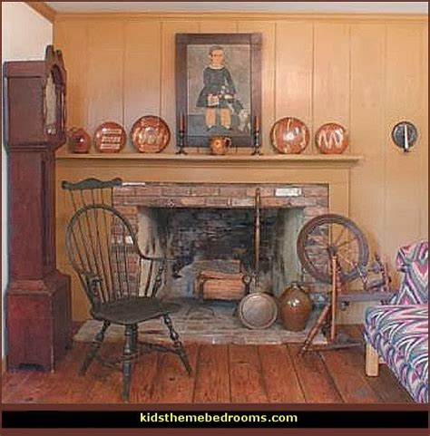 early home decor decorating theme bedrooms maries manor primitive americana decorating style folk art