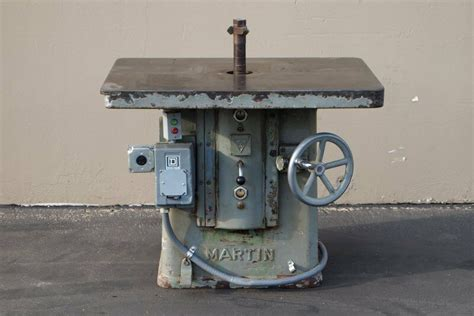 martin  single spindle shaper  hp woodworking
