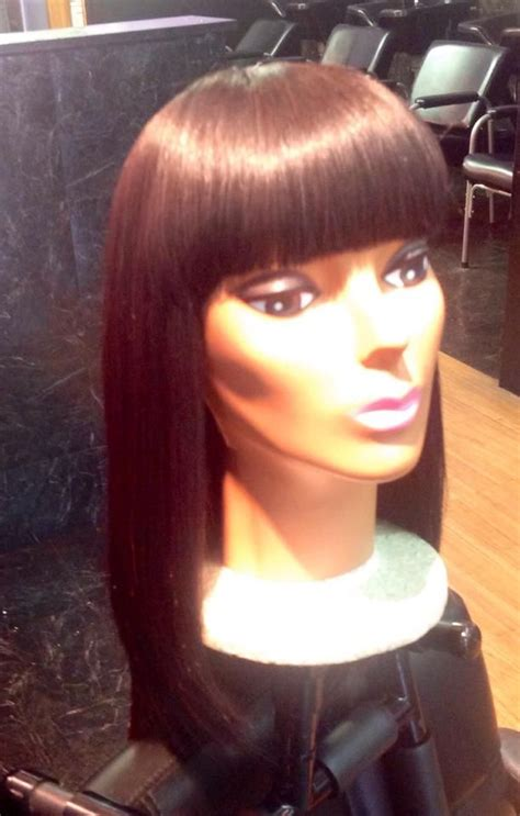 sew ins from chicago 25 best ideas about chinese bangs on pinterest sew in