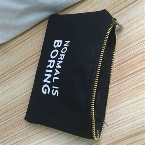 canvas zipper pouch bulk wholesale thick quality small canvas fabric cotton zipper