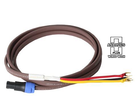 rel subwoofer cable analysis plus