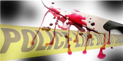 Motif Wajah Separuh perias wajah tewas dibunuh di pasar minggu metropolitan