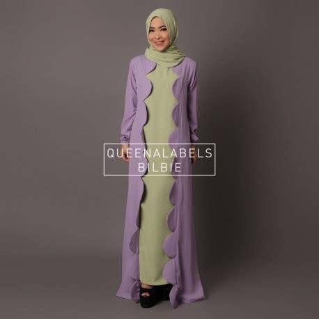 Bilbie Dress by Bilbie Green Baju Muslim Gamis Modern
