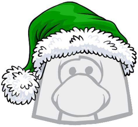 imagenes de santa claus verde gorro de santa claus verde club penguin wiki