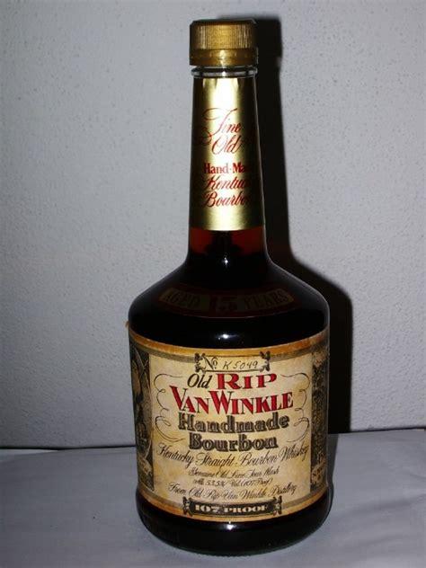 Rip Winkle Handmade Bourbon - review rip winkle handmade bourbon 15 years