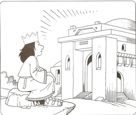coloring page of king solomon s temple temple coloring page coloring home