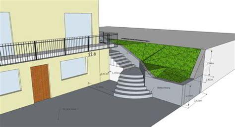 Sweet Home 3d Garten treppe