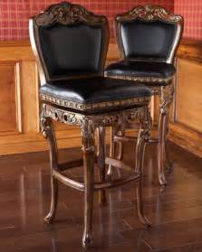 Fancy Leather Bar Stools Quot Drama Scroll Quot Stools Bar Stools And Counter