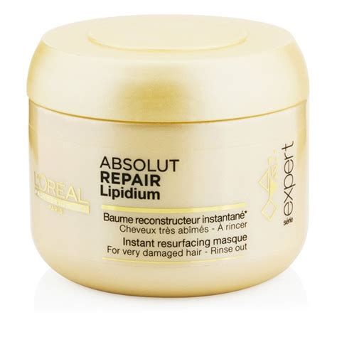 Loreal Expert Absolut Repair Hair Mask 200ml l oreal serie expert absolut repair lip masque lipidium for damaged hair rinse out 200ml