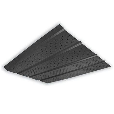 peak products 4 panel vented soffit 10 black the
