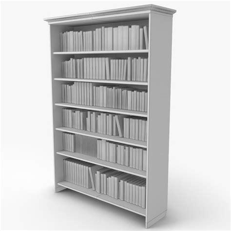 antique bookshelf 3d 3ds