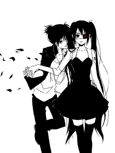 imagenes anime black and white katherine1517 im 225 genes tumblr anime art fondo de