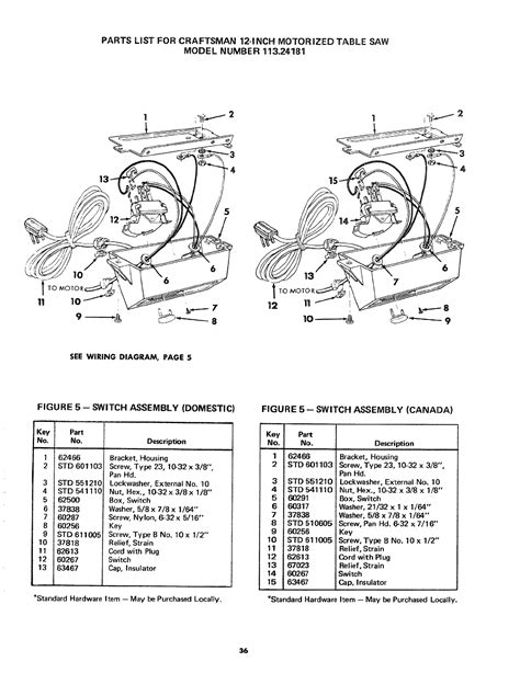 table l wiring diagram craftsman table saw switch wiring 33 wiring diagram