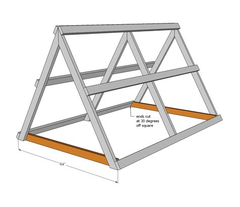 a frame plans free ana white a frame chicken coop diy projects