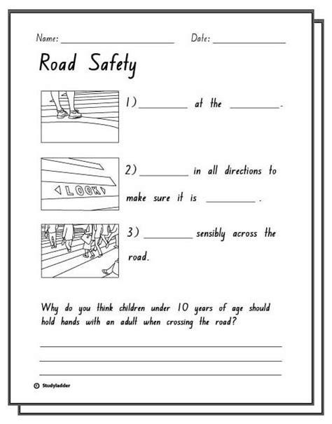 printable road safety games road safety response activity sheets english skills