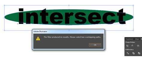 adobe illustrator cs6 not responding when saving quot intersect quot not working in illustrator pathfinder tips bjd