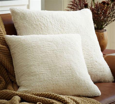 Sheep Skin Pillow by Faux Sheepskin Pillow Cover Decorative