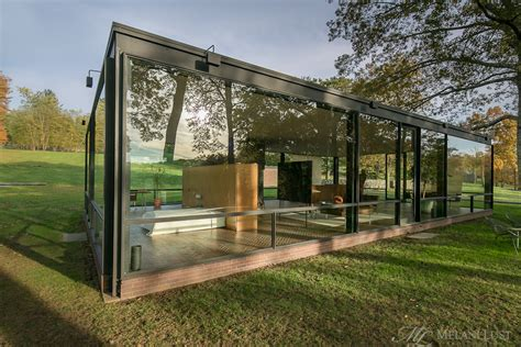 philip johnson glass house new canaan architecture