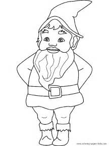 gnome coloring pages free coloring pages of garden gnome