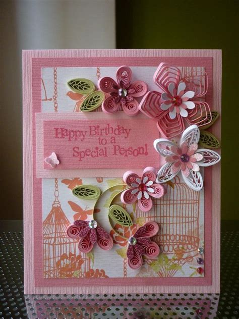 Special Handmade Birthday Cards - best 25 pink cards ideas on