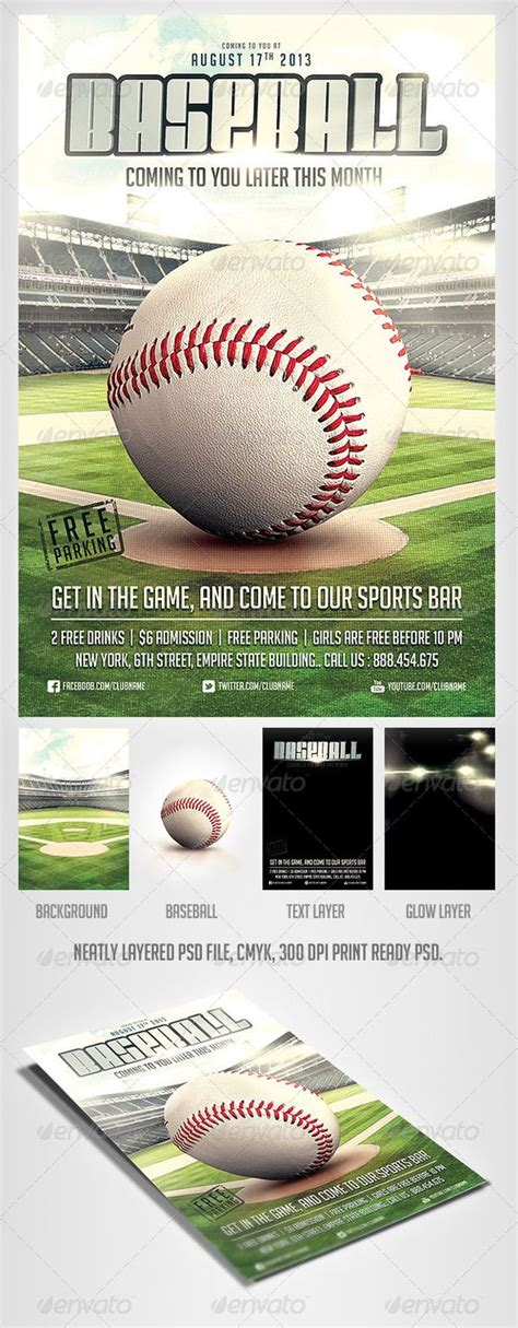 baseball fundraiser flyer template fonts baseball and flyers on