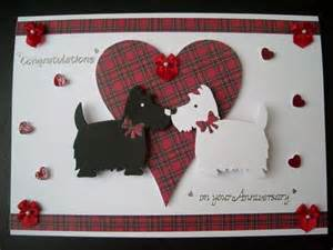 Handmade Cards Scotland - 41 best scottie dogs and tartan crafts images on