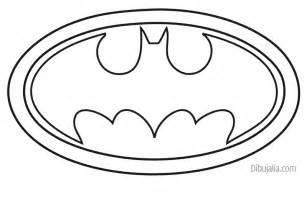 logo batman dibujalia dibujos para colorear dibujos