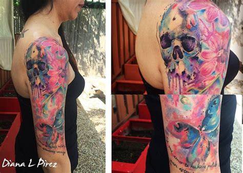 quarter sleeve watercolor tattoo 17 best images about my portfolio on