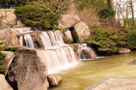 ruscello in giardino ruscello dello stagno della cascata lago in giardino