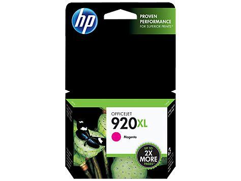 Tinta Printer Hp Officejet 6500a tinta hp 920 xl magenta