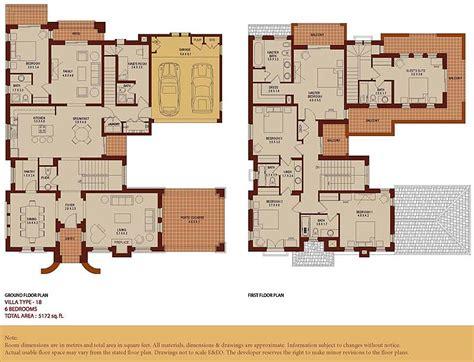 arabic house designs and floor plans mirador type 18