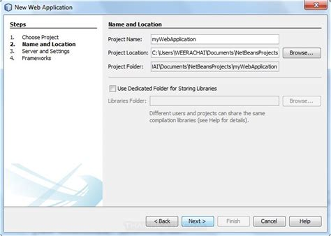 naming pattern in java beans jsp and netbeans ide create web project and run project