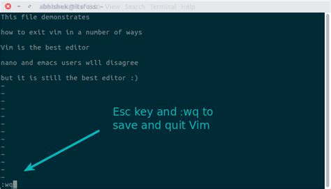 tutorial vim linux how to exit vim multiple ways to quit vim editor guides