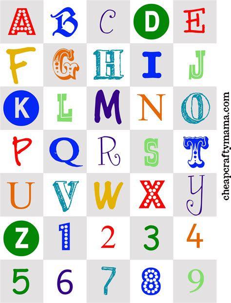 free printable letters with pictures free printable alphabet letters print these cute