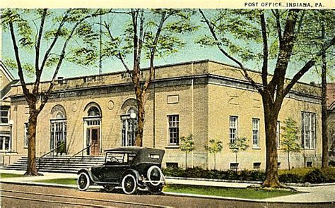 Iup Post Office by Indiana Post Office 1936