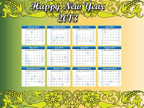 desktop calendar 2013 new calendar template site