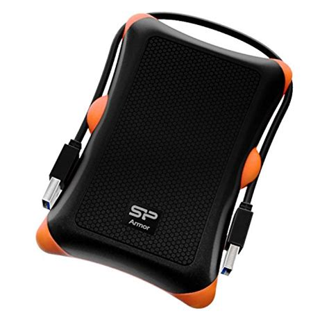 Silicon Power Rugged by Silicon Power 2tb Rugged Armor A30 Shockproof Standard 2 5 Inch Usb 3 0 Grade Portable