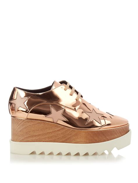 Shopping Stella Boots By Twenty Two Shoes by Lyst Stella Mccartney Elyse Faux Leather Platform Shoes