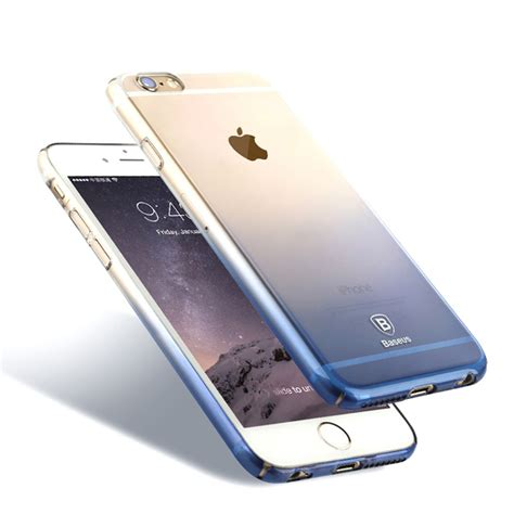 Monocozzi Ultra Slim Shell For Iphone 6s White baseus new fashion ultra thin light clear protective shell