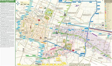 bangkok map bangkok map city centre top 10 must see places to visit including sukhumvit silom sathorn