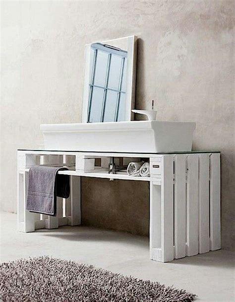 Badezimmer Unterschrank Aus Paletten by Selfmade