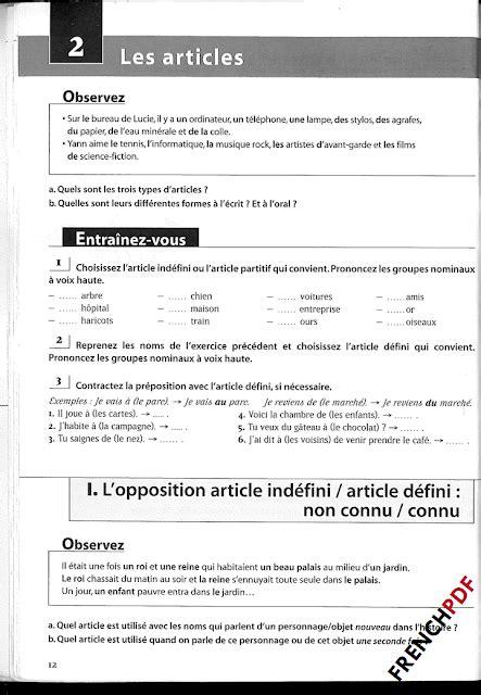 Les 500 Exercices De Grammaire B1 PDF + Les Corrigés