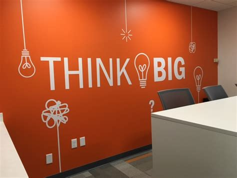 Think Think Design by Think Big Wall Decal Trading Phrases