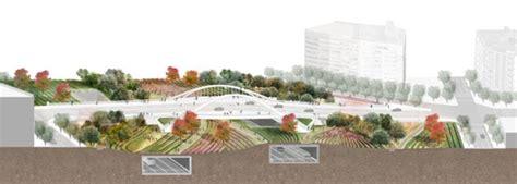 Landscape Architecture Barcelona Team 237 Comtal Has Won La Sagrera Linear Park Design