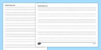 twinkl writing paper four lined handwriting sheets four lined handwriting