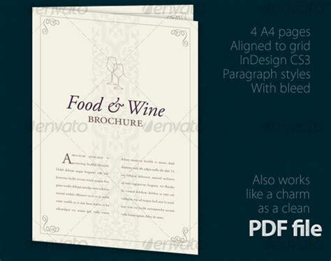 wine brochure template 10 distinctive wine brochure templates for designers free psd ai pdf